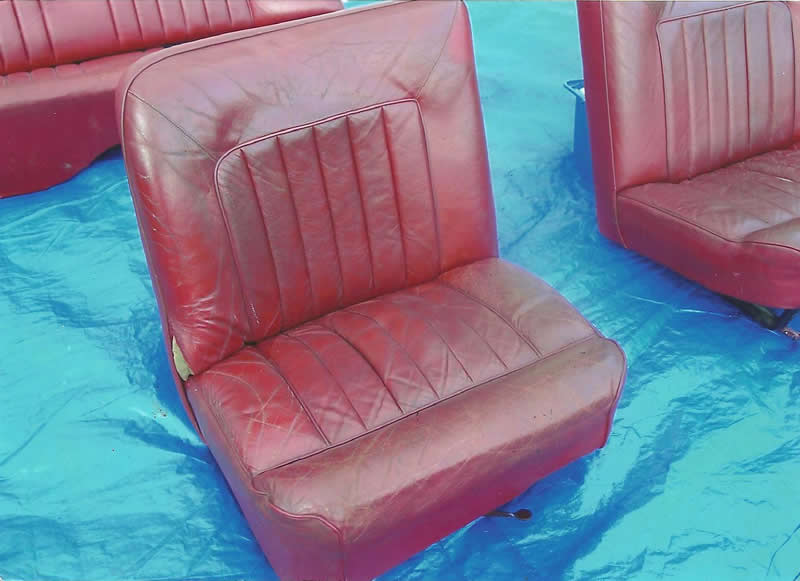 Leather Car Seat Repair & Gallery // Leather Master